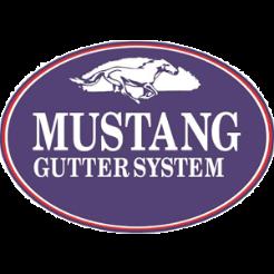 mustang gutter logos