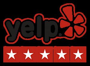 yelp logo seamless guttering
