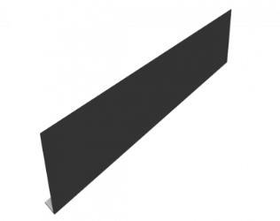 black aluminium fascia